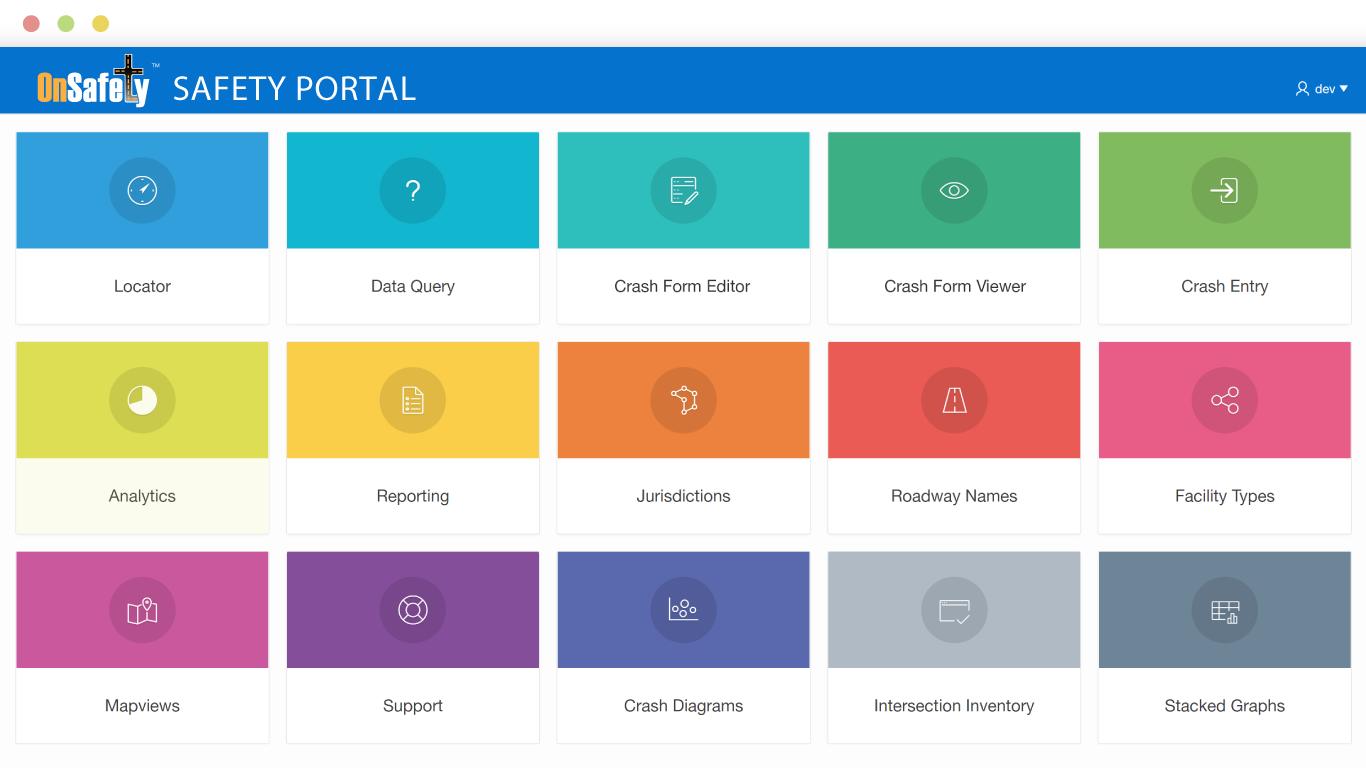 OnSafety Safety Portal Dashboard